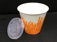 12安士麥芽花紙杯連蓋