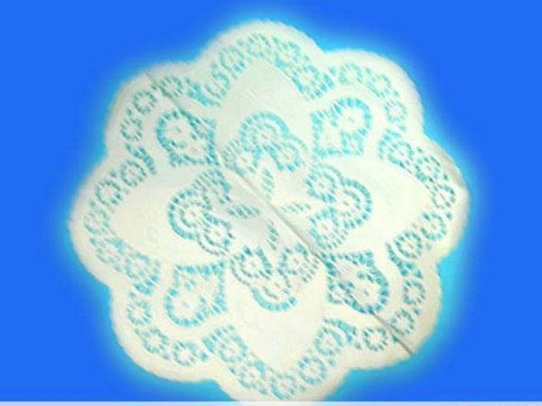 八角形花底紙