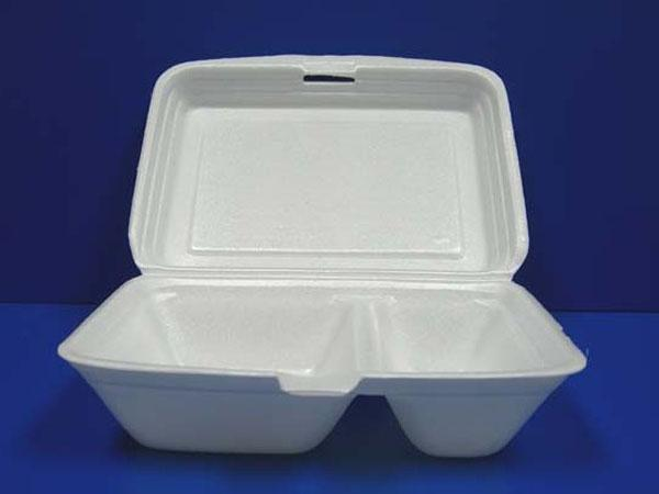 發泡膠分隔飯盒(水松分隔飯盒)