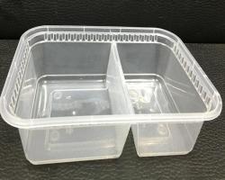 1100ML 微波爐分格飯盒連蓋