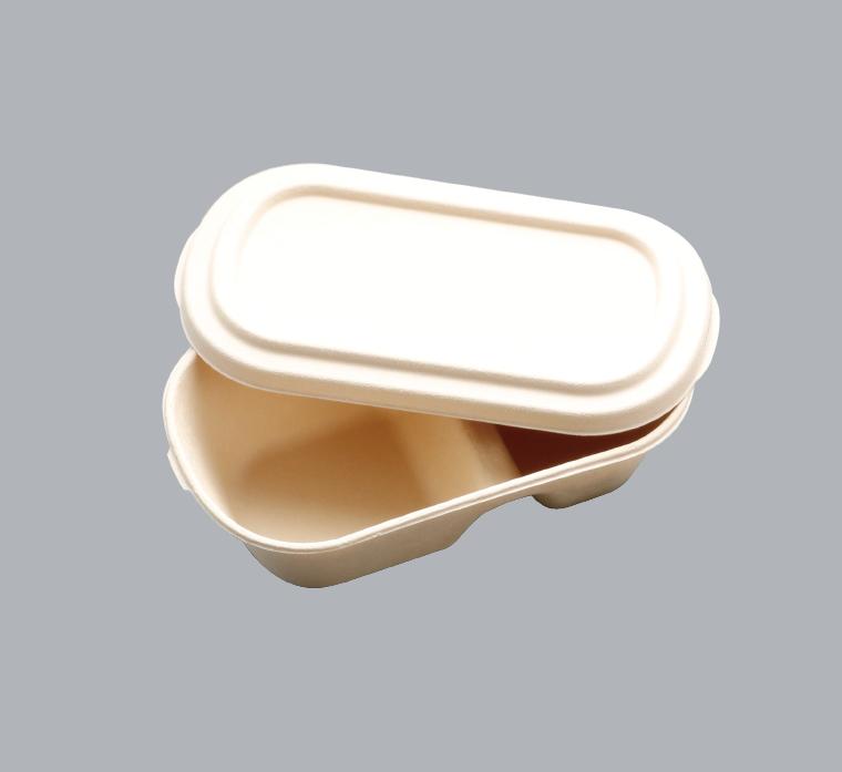 餐盒盒蓋T扣