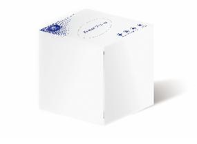 80抽商用正方形盒裝紙面巾