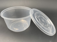 850ml 微波爐膠碗配注塑蓋