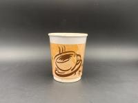 8oz 咖啡紙杯 (咖啡杯圖案)